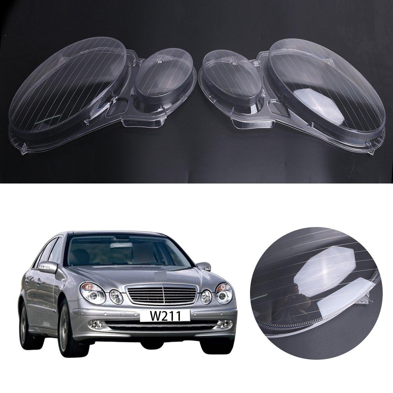 Benz W211 Fanale anteriore, Faro anteriore E320 E350 E280 E300 E500 E550 Plastica For Mercedes Benz E-CLASS W211 2006-2008