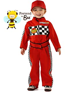 f1 racing driver kids costume 5 7 years