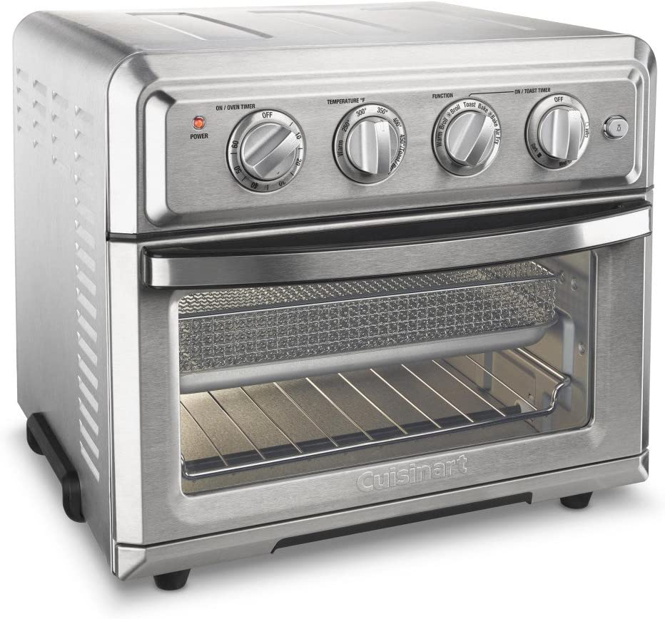 Cuisinart-TOA-60-Convection-Toaster-Oven-Airfryer,-Silver