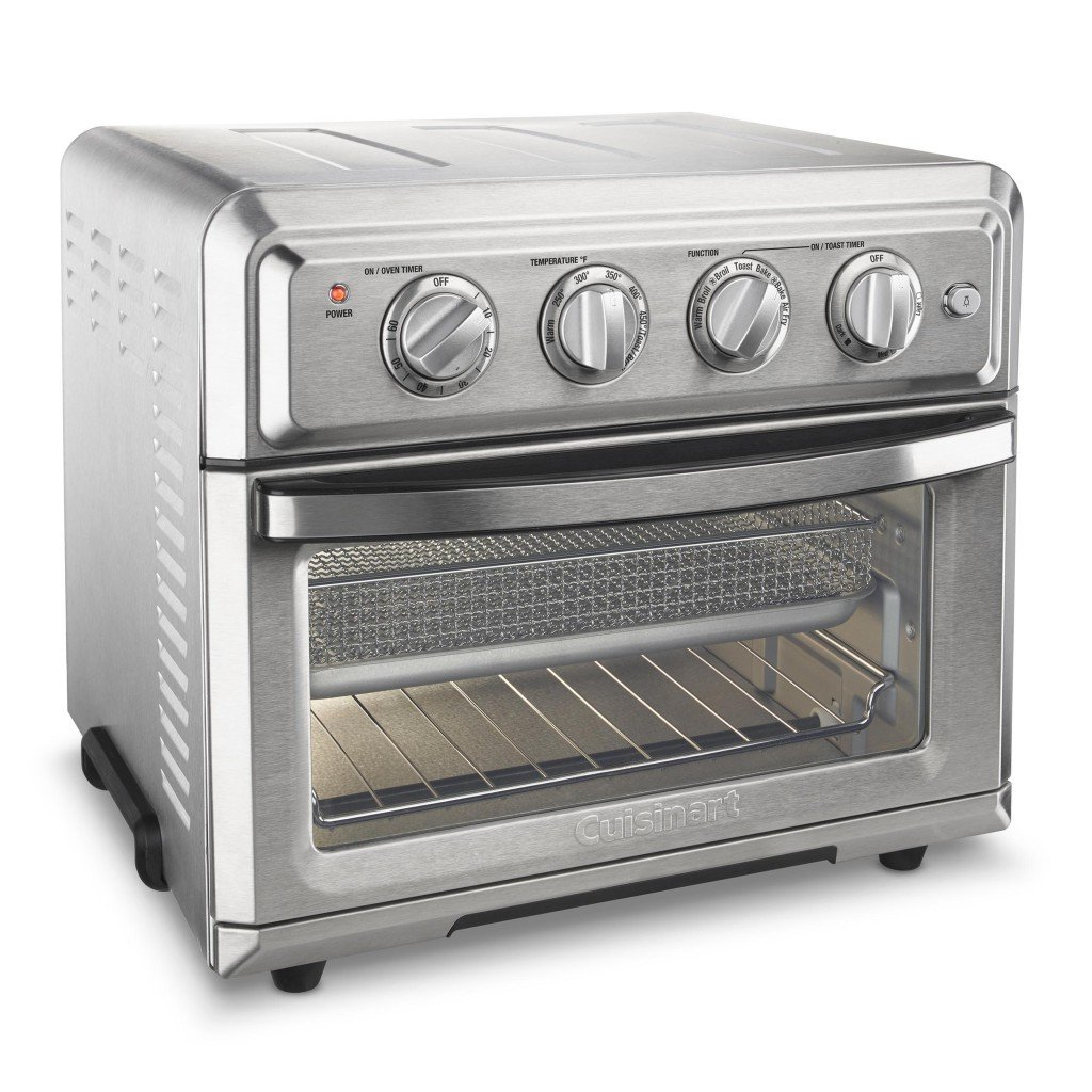 Cuisinart TOA-60 Cuisinart Convection Toaster Oven Air Fryer, Silver