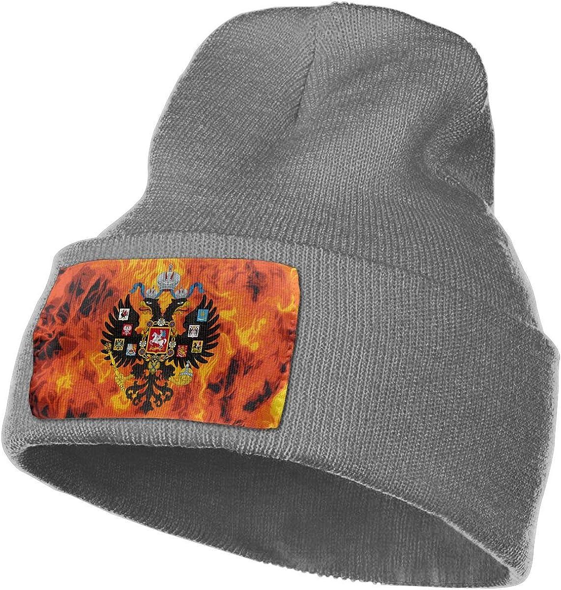 Russian Empire Men/&Women Warm Winter Knit Plain Beanie Hat Skull Cap Acrylic Knit Cuff Hat