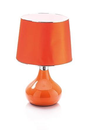 Evviva lámpara de mesa, Naranja: Amazon.es: Iluminación