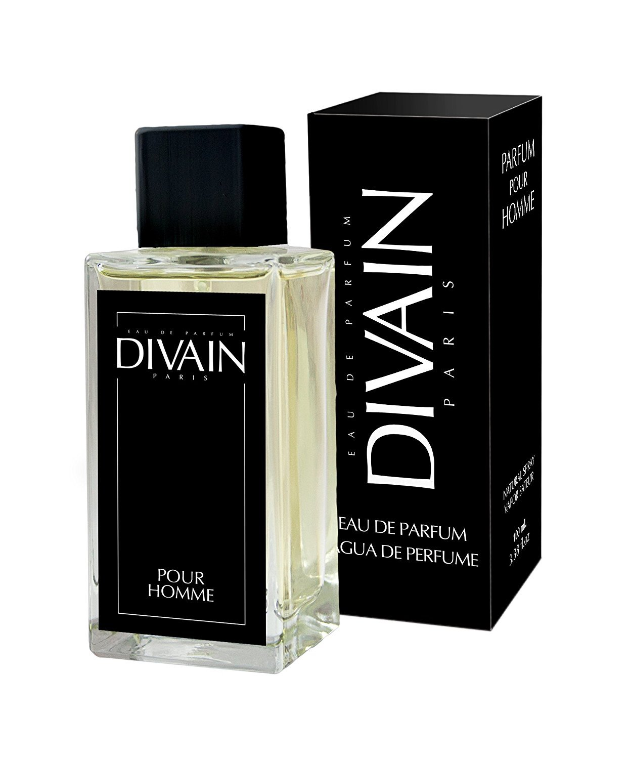 DIVAIN-027, Similar to Acqua Di Gio from Armani, Eau de parfum for men, Spray 100 ml Tu perfume favorito SL