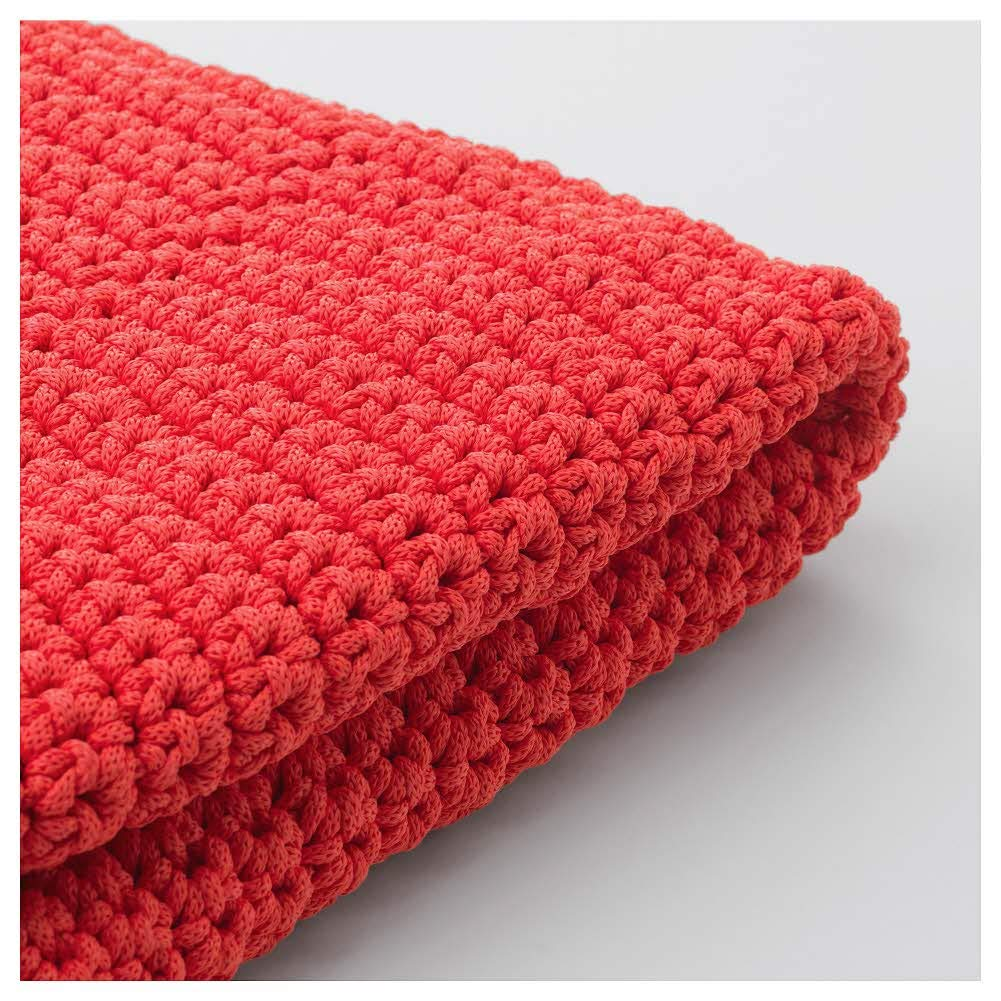 IKEA ASIA OTTERON Pouffe Cover in Outdoor red