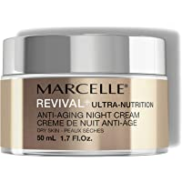 MARCELLE Revival+ Ultra-Nutrition Anti-Aging Night Cream, 50 Milliliters