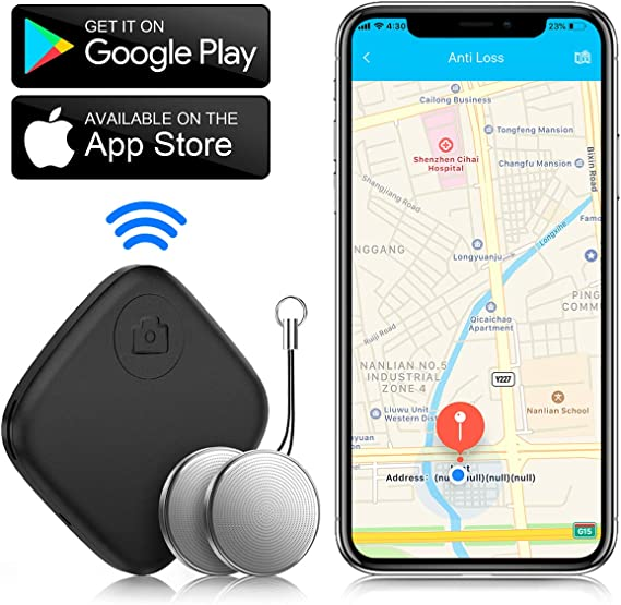 Car Key Finders Trackers for iOS /& Android Wallet and Luggage Finder Deklerk Pro Key Finder GPS Key Finder Key Chain Key Finder Bluetooth Locate Cell Phone with Item Locator