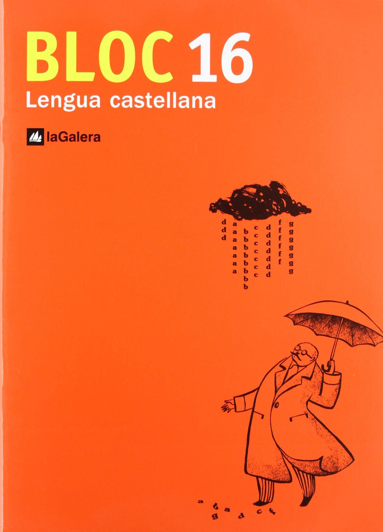 BLOQUE LENGUA 16 (Spanish) Paperback