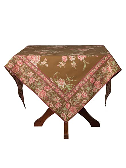 April Cornell Motheru0027s Garden Olive 60u0026quot; X 90u0026quot; Tablecloth