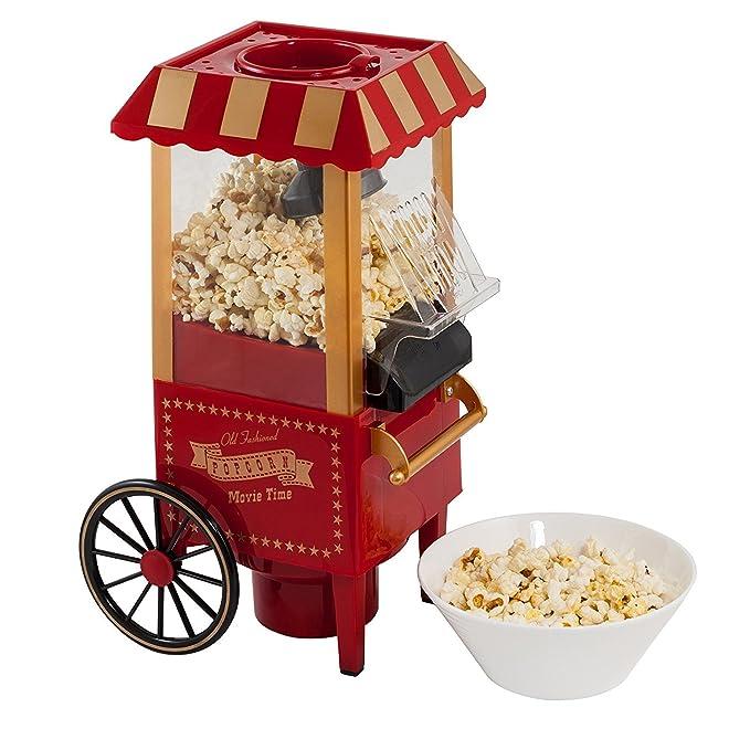 Godskitchen Electrics Ofp-501 Vintage Collection, Stainless Steel Hot Popcorn Maker Machine Popcorn Makers at amazon
