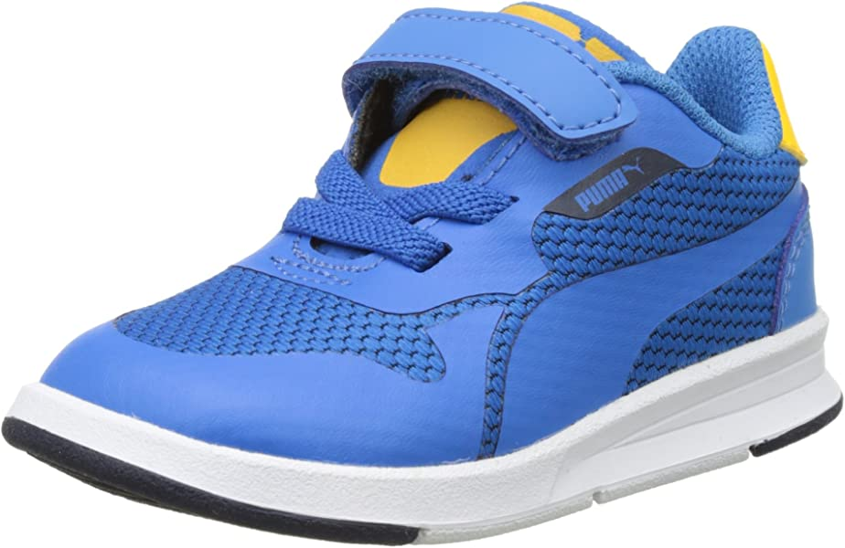 Puma Unisex Kids' Icra Evo V Inf Low Top Sneakers, Blue