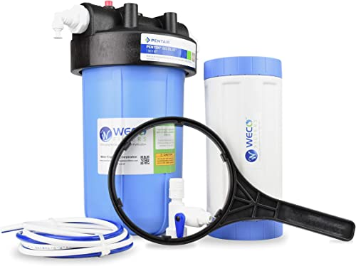 WECO Big Blue Specialty Water Filter System – Made in USA with Foreign Domestic Components NTF-1045H