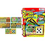 JA-RU Fake Lottery Ticket Scratch Tickets (5 Tickets / 1 Pack) Pranking Toys for Friend and Family Scratcher Jokes and…