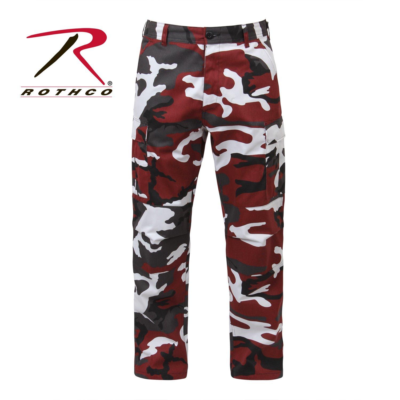 cb909c13b44e4 Rothco Sky Blue Camo BDU Pants, Clothing - Amazon Canada