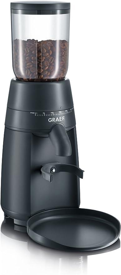 Graef CM702EU - Molinillo de café (128 W), color negro mate ...