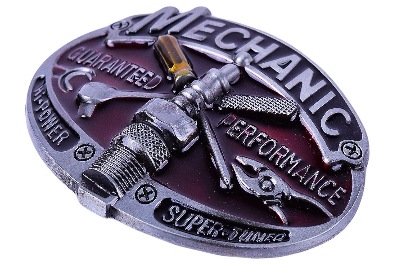 MarryAcc Mechanic Tool Belt Buckle for Men