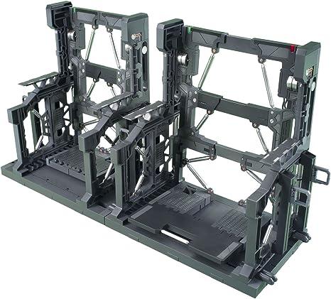 RG 1:144 Bandai Builders Parts Gun Metal System Base 001 HG