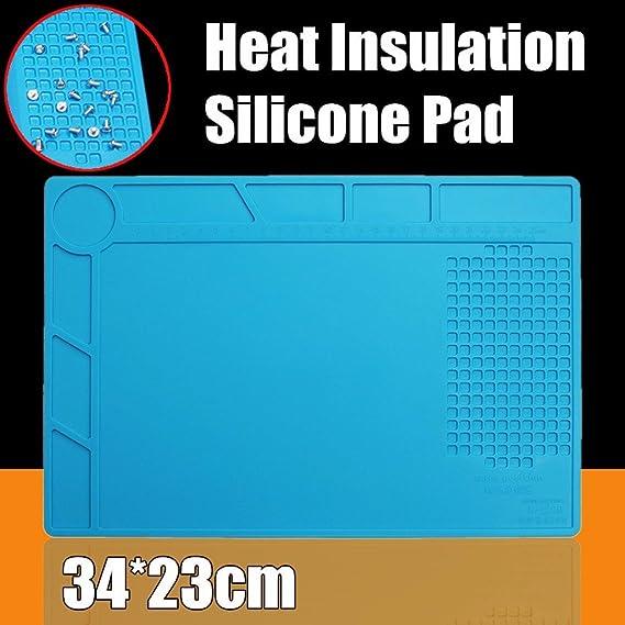 Plaque de soudure anti-chaleur pour r/éparation de t/él/éphone et ordinateur 500 /°C