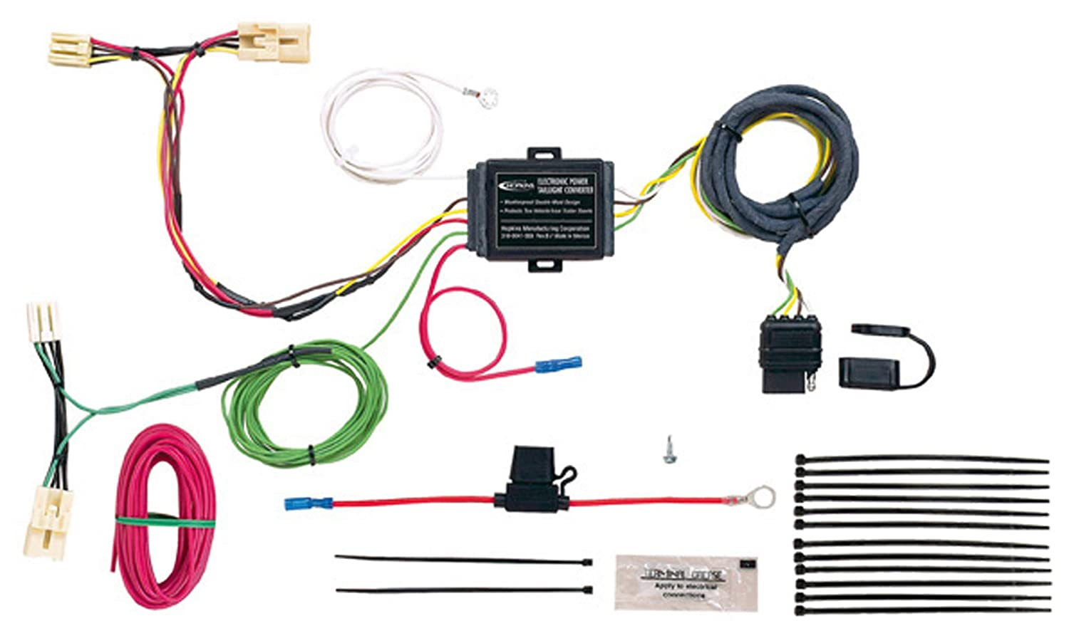 Hopkins 41844 Plug-In Simple Vehicle Wiring Kit Hopkins Towing Solution