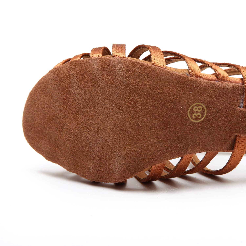 XIAOY Satin Zehen Tanzschuhe Offen Tanzschuhe Zehen Damen Standard Latein für Innen-Tanzen Schwarz Schuhe Pumps 97f0bf
