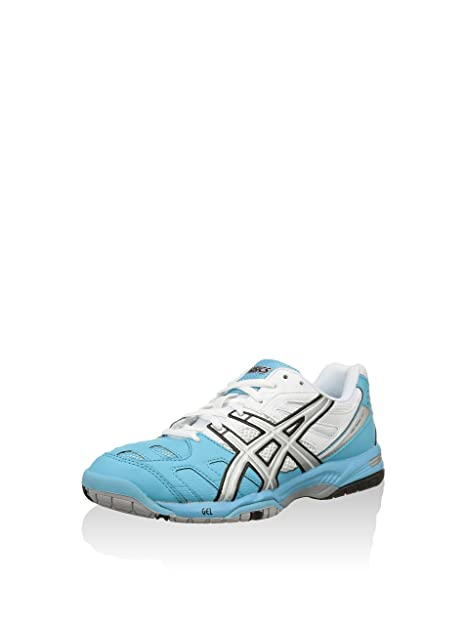 Asics Zapatillas de Tenis Gel-Padel Plata/Blanco EU 38 (US 7)