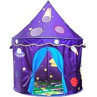 Homfu Tente d'Enfants pour Jouer à l'extérieur comme à l'intérieur, Tente dépliable pour Filles et garçons avec Tapis Doux