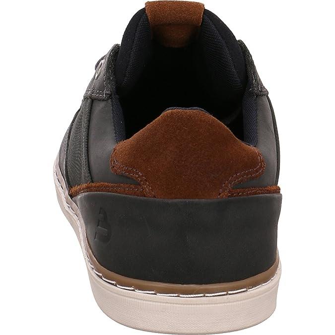 BULLBOXER 399p25010fp3nasu, Chaussures de ville à lacets pour homme - bleu - bleu,