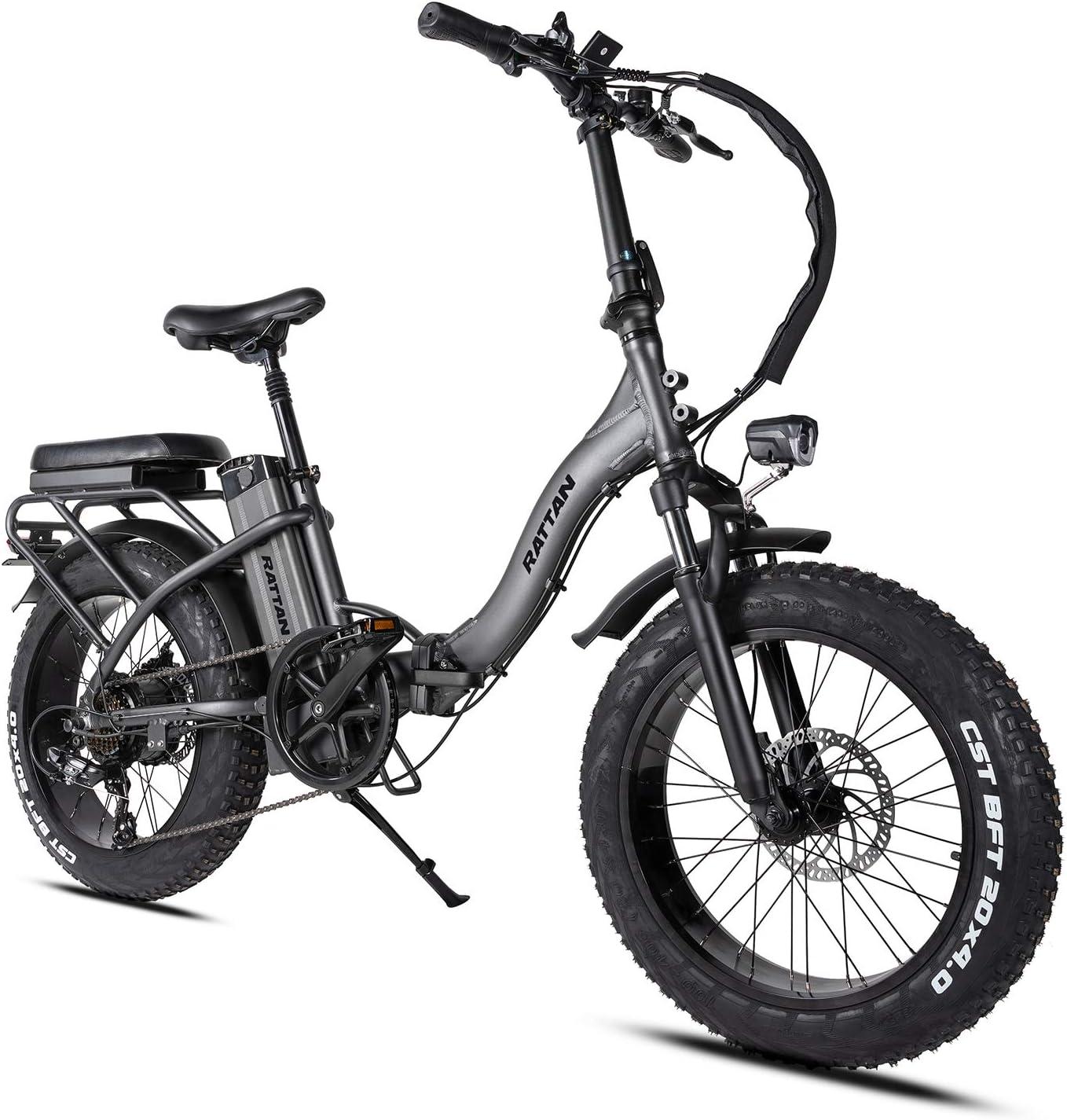 Rattan Electric Bike