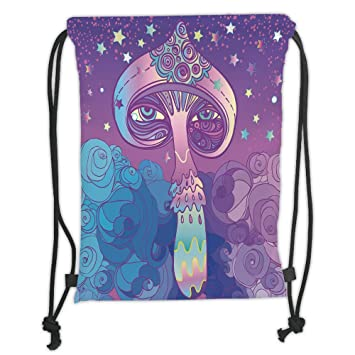Amazon.com   Custom Printed Drawstring Sack Backpacks Bags f22ac98791dc