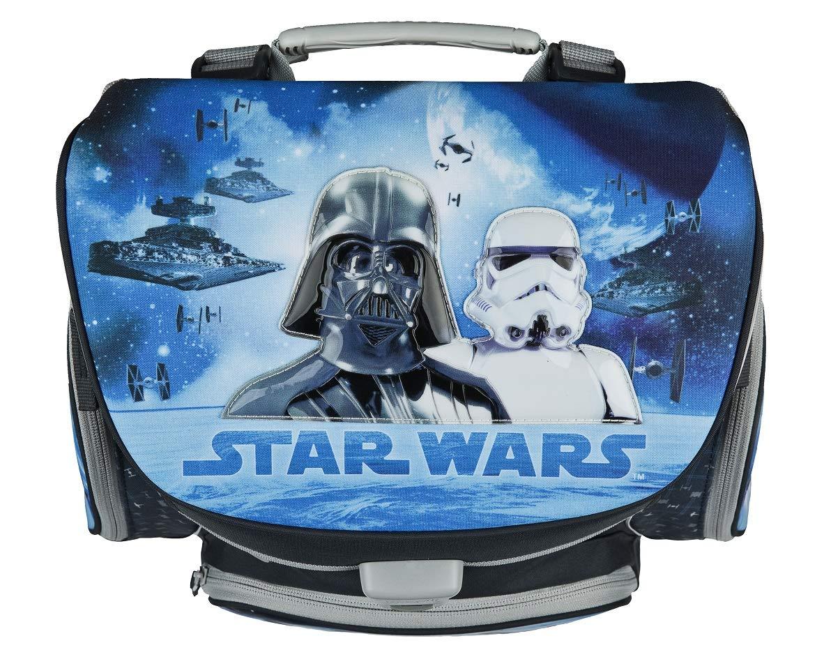 Star Wars Classic Schulranzen Set 9tlg Federmappe Sporttasche Blau Stormtrooper