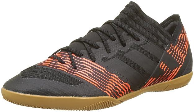 Adidas Nemeziz Tango 17.3 TF, Zapatillas de Fútbol para Hombre, Negro (Core Black/Core Black/Hi-Res Green S18 001), 39 1/3 EU adidas