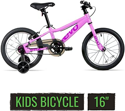 """9//16/"""" Kid/'s Bicycle Pedals Pink//White for 12/"""" to 16/"""" Bikes New"""