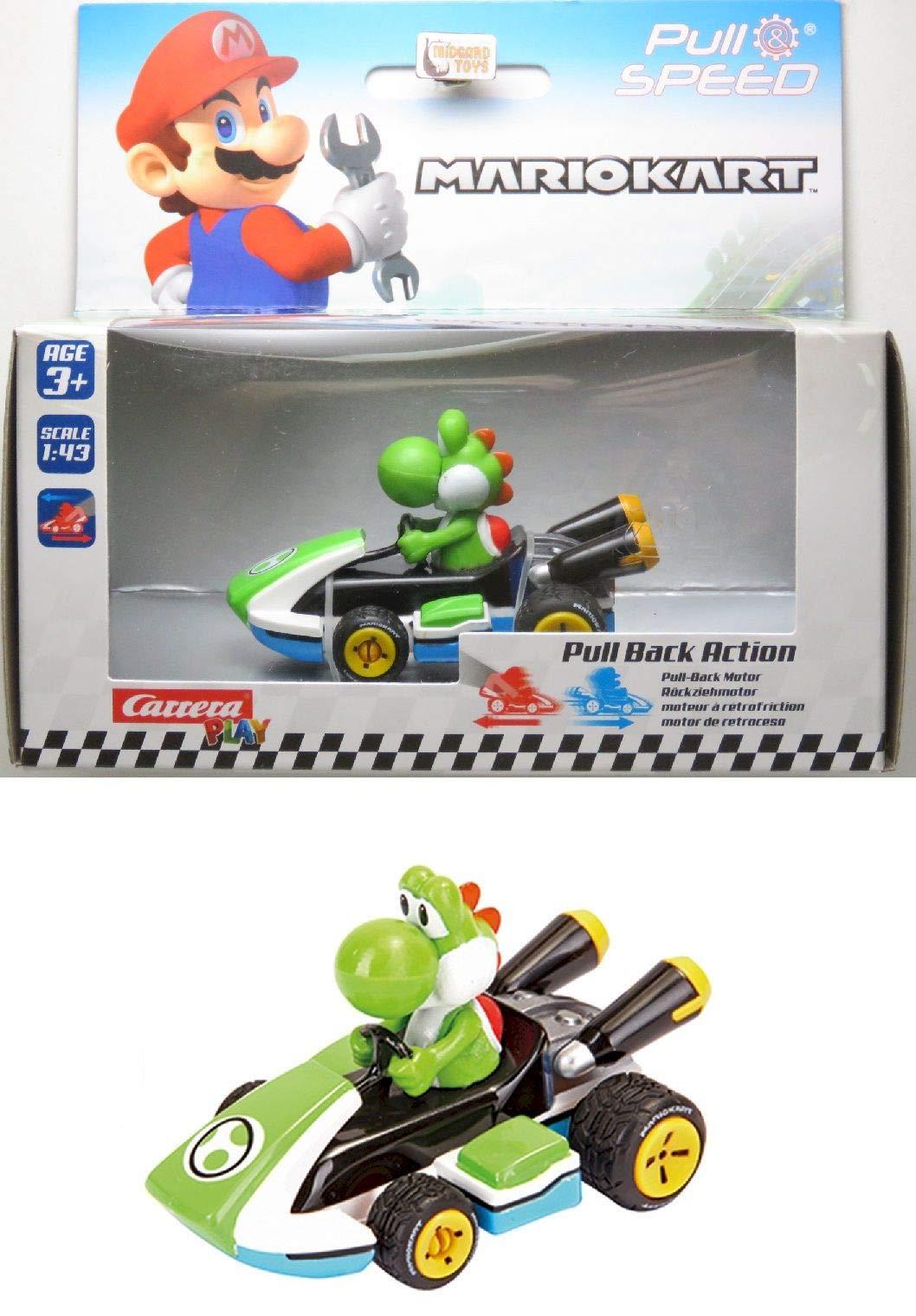 Nintendo YOSHI - PULL BACK SUPER MARIO
