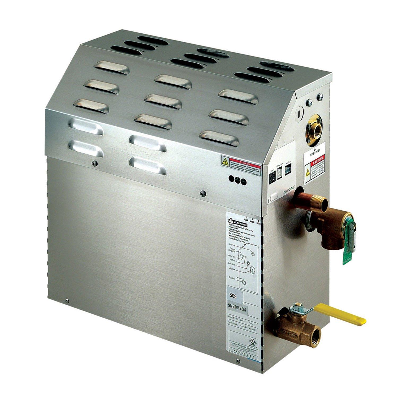 Mr. Steam MS150EC1 eTempo 6 Kilowatt, 240-Volt Steambath Generator Only