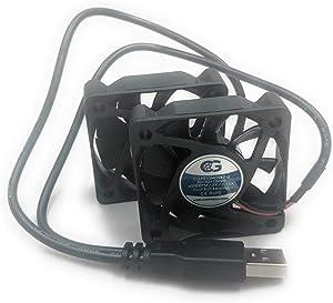 Coolerguys Dual USB Fans (Dual 50x10mm)
