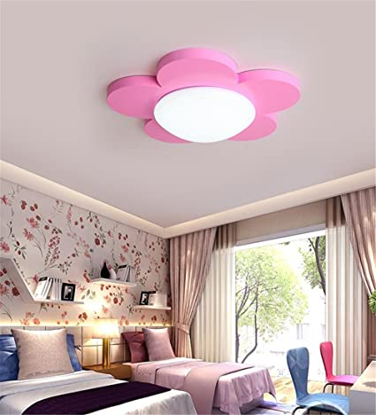 CHLIGHT 37Cm Children Room Ceiling Lights Flower Shaped Acrylic Ceiling  Lamp Bedroom Living Room Kindergarden Cute