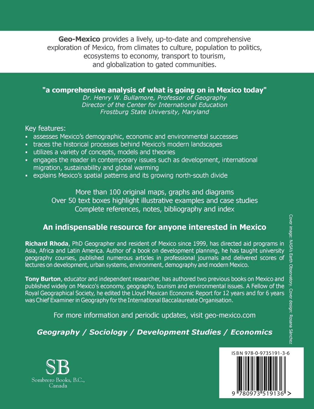 geo mexico the geography and dynamics of modern mexico richard