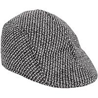 Krystle Men's Cotton Cap Grey_Free Size