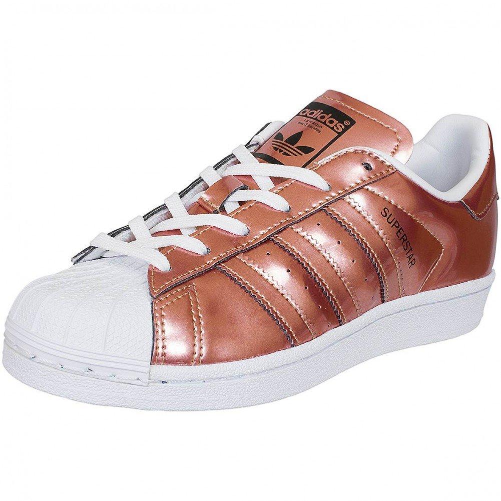 Adidas Originals Damen Sneaker Superstar copper 39 1/3