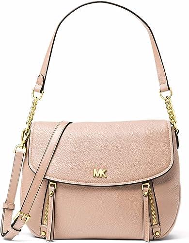 Michael Kors MICHAEL by Evie Soft Pink sac en cuir rose, sac