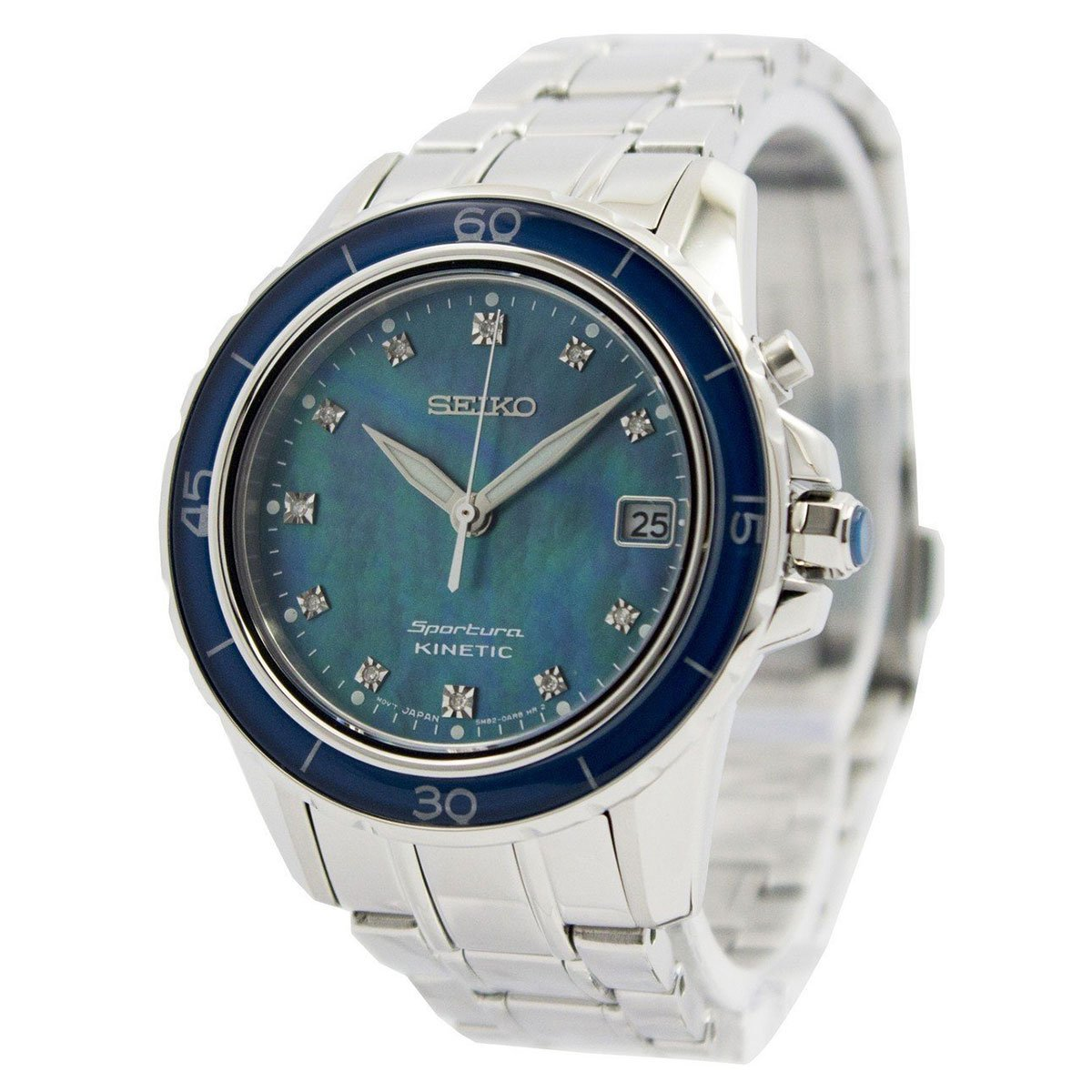 Seiko Ladies KINETIC Analog Business Watch (Imported) SKA873P1 by Seiko Watches