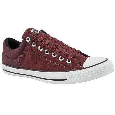 d8a1714b922 Converse Chaussures Chuck Taylor Street All Star Toile Bordeaux pour homme  - Rouge - bordeaux