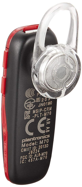4c4e5fb6cbc Plantronics M70 Bluetooth stereo music headset (Black-Red): Buy Plantronics  M70 Bluetooth stereo music headset (Black-Red) Online at Low Price in India  ...