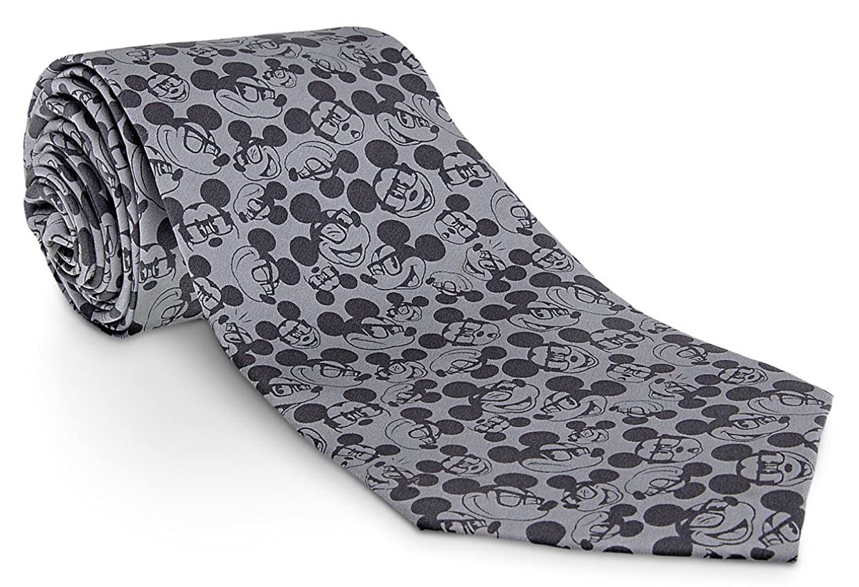 Disney Mickey Mouse - Corbata para gafas, color gris: Amazon.es ...
