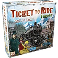 Jaynil Enterprise® Ticket to Ride Europe Family Entertainment Board Game, Multicolor