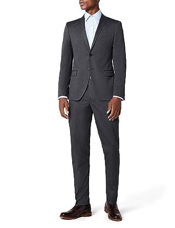 Premium-Auswahl online hier am besten bewerteten neuesten s.Oliver BLACK LABEL Herren Anzug SLIM (grau)