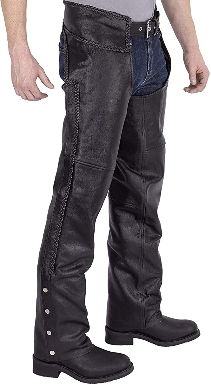 Honda motorcycle leather snap fit belt