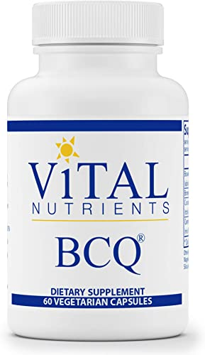 Vital Nutrients – BCQ Bromelain, Curcumin and Quercetin – Herbal Support for Joint, Sinus and Digestive Health – 60 Capsules per Bottle