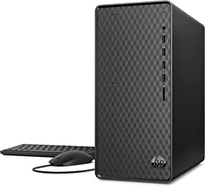 HP Desktop Computer, AMD Ryzen 3 3200G, 8GB RAM, 512 GB SSD, Windows 10 (M01-F0020, Black)