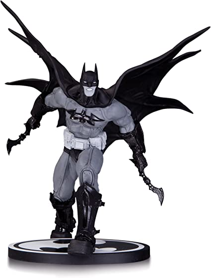 DC Collectibles Batman: Black and White: Batman by Carlos DAnda Statue