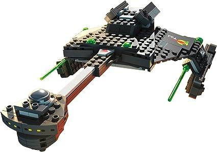 Mega Bloks DPH80 Star Trek Klingon D7 Battle Cruiser Collector Construction Set